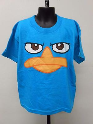Clothing, Shoes & Accessories Kids' Clothing, Shoes & Accs New Phineas & Ferb Perry The Playtapus Youth Kids Sizes 5/6-6/7-8-10/12 Shirt