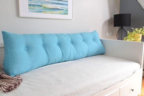 Daybed Pillow Triangular Wedge Backrest Cushion Reading Bolster Soft Headboard