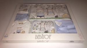 Bebek Cikis Seti Blau Bebitof Erstausstattung Starter-Set Baby Bär 10-tlg