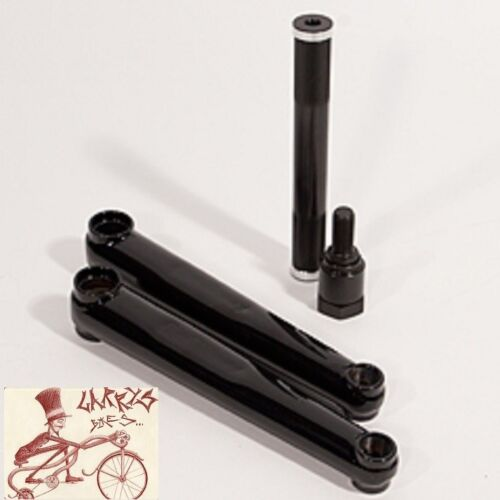 PROFILE RACING RACE RHD BLACK CRANK W// 5.25 CRMO SPINDLE--CHOOSE YOUR ARM LENGTH