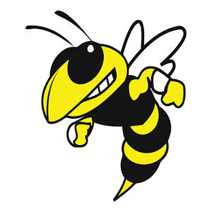 Yellow Jacket Decal Sticker Choose Your Size Ebay