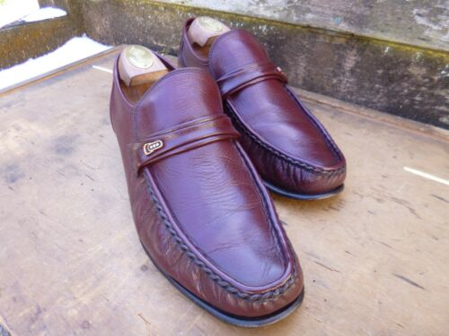 CHEANEY CHURCH LOAFERS – BROWN OXBLOOD – UK 9.5 – LEEDS EXCELLENT CONDITION