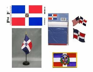 Image Is Loading Dominican Republic Heritage Flag Pack 3x5 Flag 2