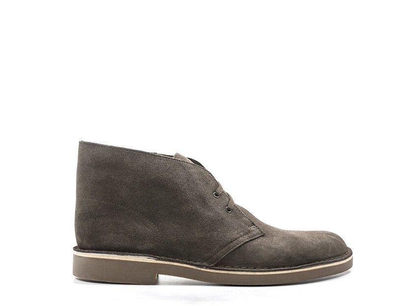 Zapatos Clarks hombre marrón serraje 139026-cho