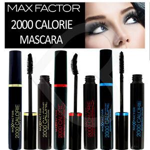 4605e9767db Max Factor 2000 Calorie Mascara Black New Packaging Dramatic Volume ...