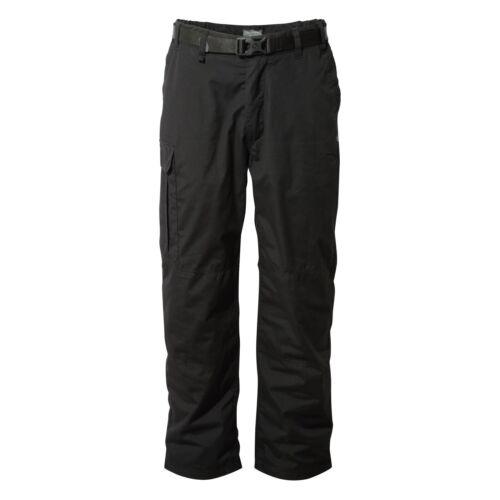 RRP £70 Craghoppers Men's Kiwi Winter Fleece Lined Walking Trousers With Belt