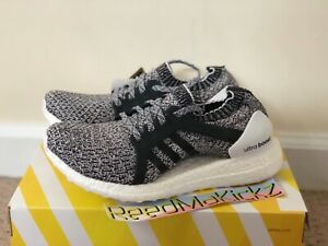 Details about Adidas Ultra Boost X Oreo Black Gray White Womens sizes CG2977