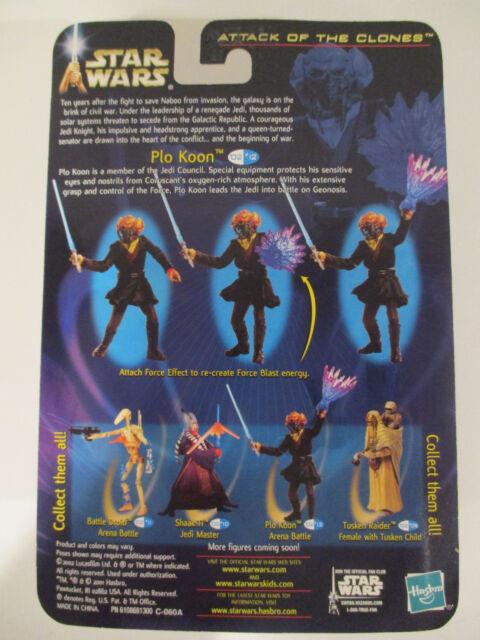 Plo Koon Arena Battle 2002 STAR WARS SAGA Attack of the Clones AOTC MOC #12
