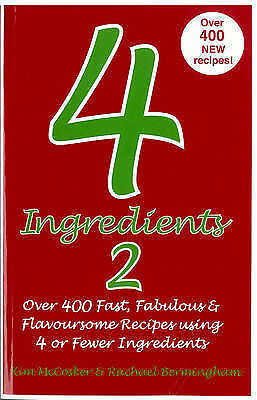 Direct from 4 Ingredients Book 2: Personally signed by Kim McCosker