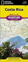 Costa Rica Adventure Travel Map National Geographic Waterproof