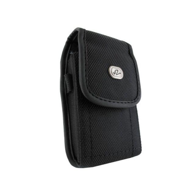 Rugged Canvas Case Pouch Clip for Verizon/Sprint Motorola RAZR V3m, MOTO i776