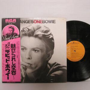 David Bowie – Changesonebowie LP 1976 JAPAN RCA RVP-6070 CHANGES w/ obi, insert