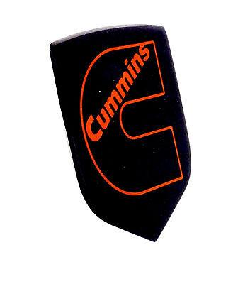 DODGE RAM DIESEL GRILLE EMBLEM 2006-2010 Black//Orange