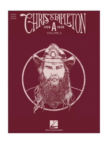 "Chris Stapleton From ""A"" Room Volume 2 Piano Vocal /& Guitar SHEET MUSIC BOOK"