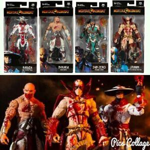 Mortal Kombat 11 - Spawn, Baraka, and Raiden Bloody