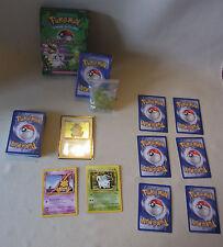 Vtg 90s Pokemon Sammelkarten Spiel TCG KRAFTRESERVE Themendeck Pflanze / Psycho