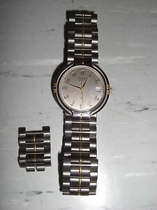 ORIENT-Quartz-Quarz-Armbanduhr-Uhr-Herrenuhr-Damenuhr-mit-Ersatzgliedern-Top