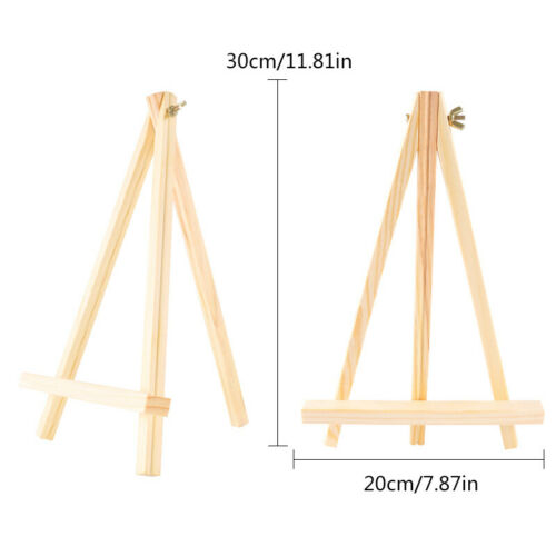 Mini Artist Easel Wood Wedding Table Card Stand Display Holder Party Decoration