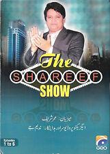 UMAR SHARIF - THE SHAREEF SHOW - 6 EPISODES GEO TV DVD - FREE UK POST