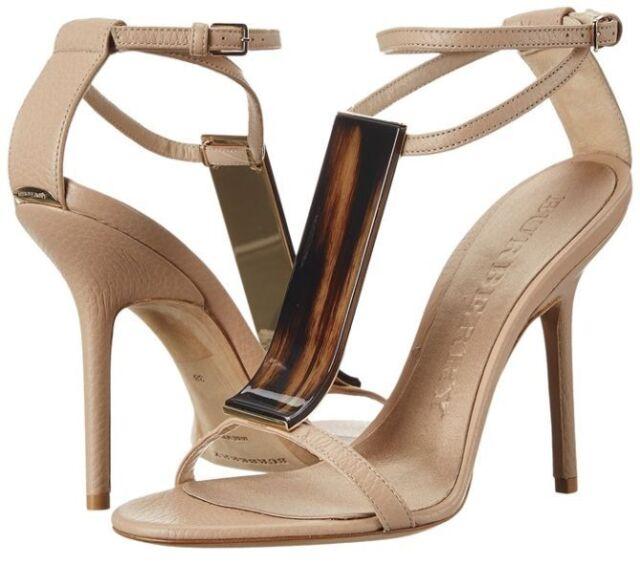 Burberry Irvington heels womens size 8 m euro 38