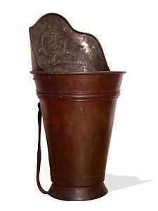 Kupfer Antike Originale Vor 1945 Hart Arbeitend Weinbütte // Kupfer // Selten // Barock // Um 1720