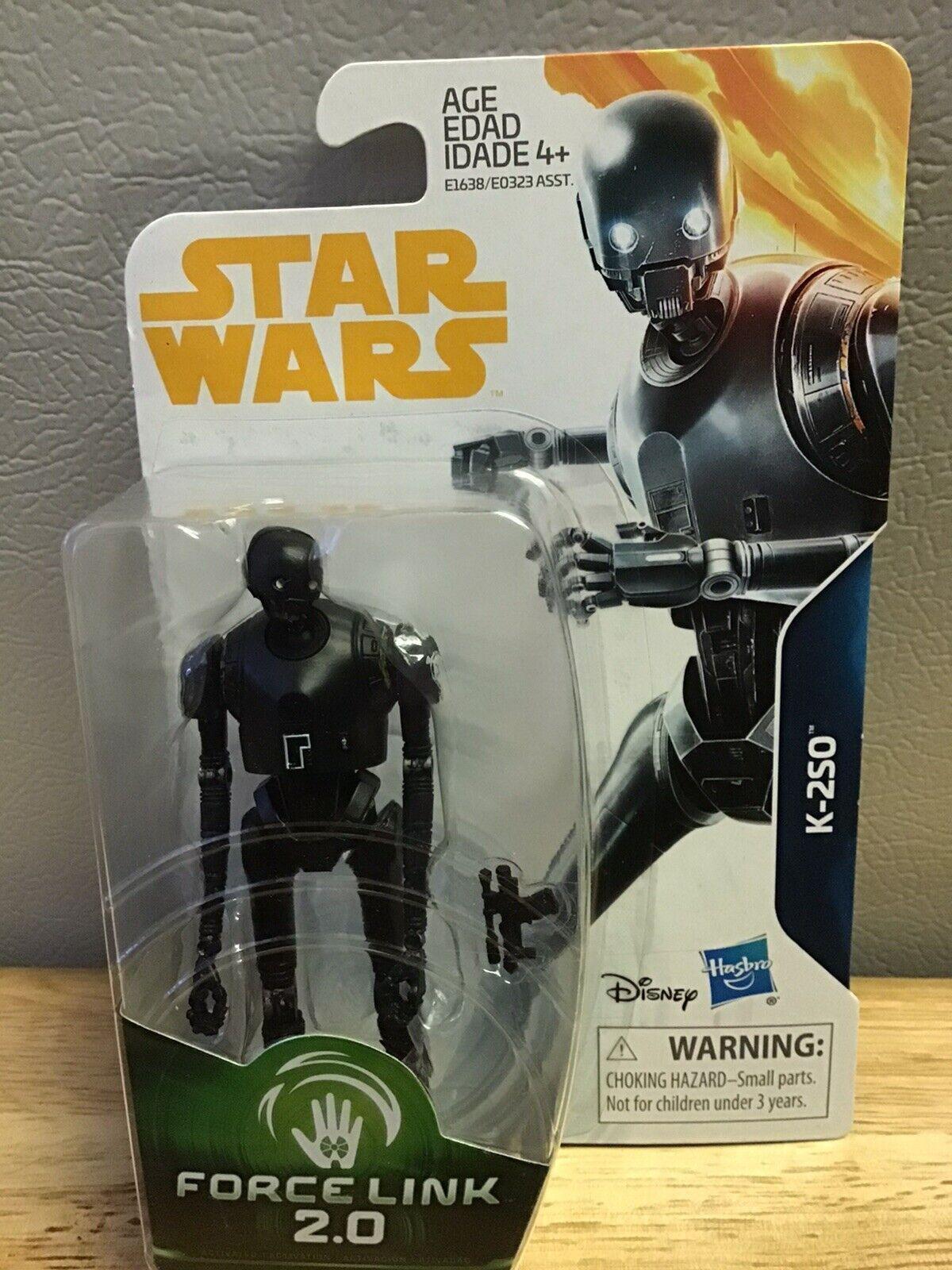 "Star Wars Force link 2.0 LOOSE 3.75/"" inch series figure K-2SO droid"