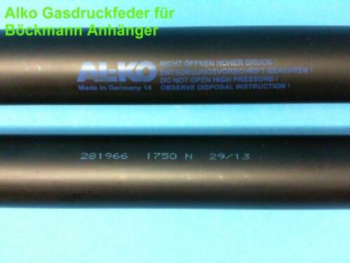 Alko la presión del gas resorte para Böckmann caballos seguidores 2000 N longitud 614 mm de ø 28//14 mm