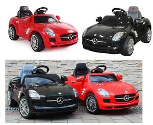 mercedes benz sls amg elektroauto kinderauto. Black Bedroom Furniture Sets. Home Design Ideas