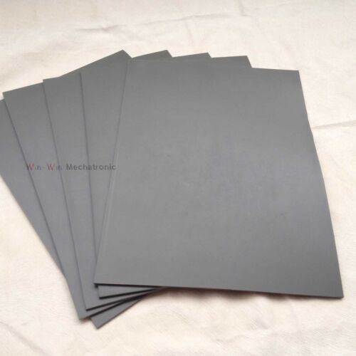 1Pc HQ Gray Laser Rubber Sheet Printing Engraver Engraving Sealer Stamp A4 2.3mm