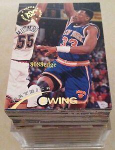 1994-95-STADIUM-CLUB-SERIES-1-NBA-COMPLETE-182-CARD-SET-JASON-KIDD-GRANT-HILL-RC