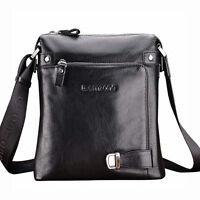 teemzone Men's Genuine Leather Satchel Messenger Shoulder Bag Tablet Laptop Bags