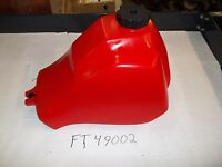 Honda Atc 185 185s Atc 200 S M E Es Big Red Plastic Fuel Tank Made In Usa
