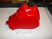 Honda Atc 185 185s Atc 200 S M E Es Big Red Plastic Fuel Tank Made In Usa