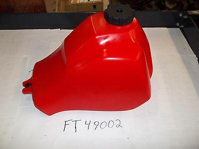 HONDA ATC 200M , ATC 200E ATC 200ES BIG RED  NEW PLASTIC FUEL TANK MADE IN USA