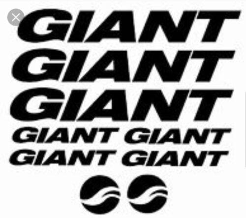 diff couleur disp * Remplacement Giant Mountain Bike Frame nouveau VINYLE AUTOCOLLANTS MTB
