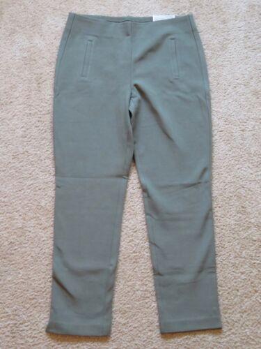 Nuovo Per Da Chico's Pantaloni Verde Donna Caviglia Il Migliore Oliva Juliet PBPXrnq7x