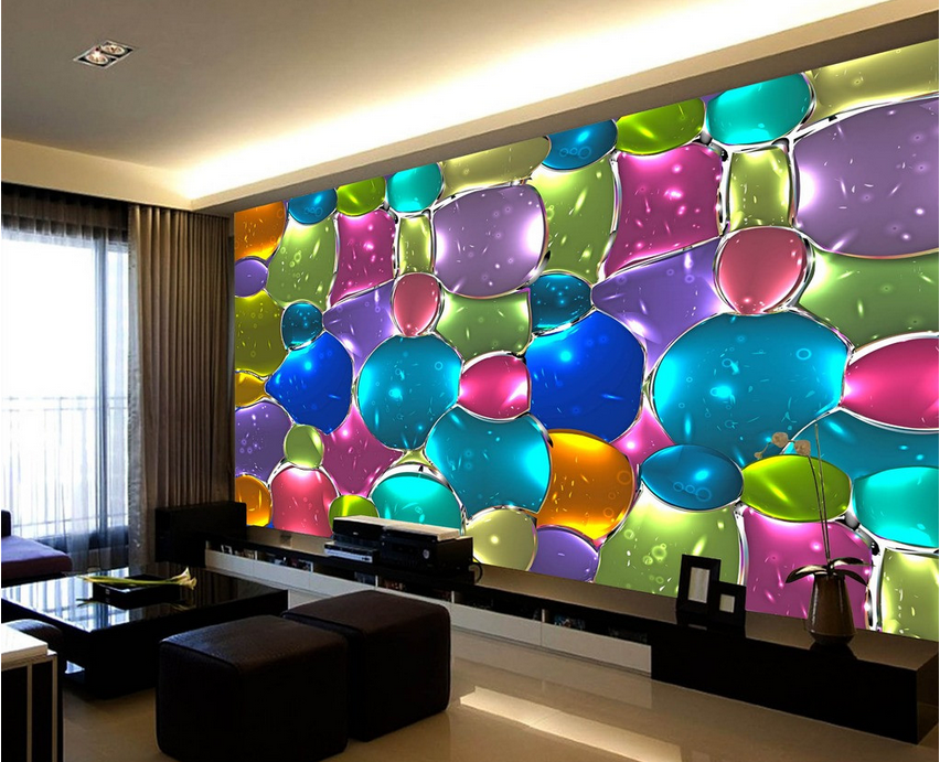 3D Farbeed Glass Beads 98 Wallpaper Mural Paper Wall Print Wallpaper Murals UK