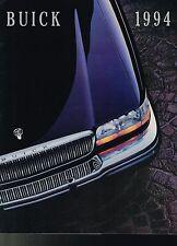 1994 BUICK Brochure:RIVIERA,PARK AVENUE,ROADMASTER,LeSABRE,REGAL,CENTURY,SKYLARK