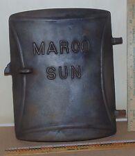 Vintage Marco Sun  Cast Iron Door - Decor - Steampunk - King Stove & Range Co