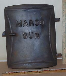 Decor Vintage Marco Sun Cast Iron Door Steampunk King Stove & Range Co Packing Of Nominated Brand