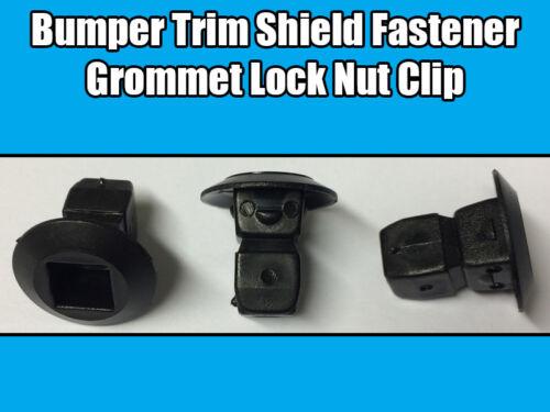 50x Clips Pour Audi Oeillet Expansion Verrouillage Écrous Pare-chocs TRIM Shields Fastener Clip