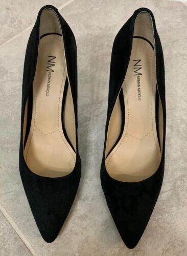 Neimen Marcus Pointed Black Heels - Size 8.5