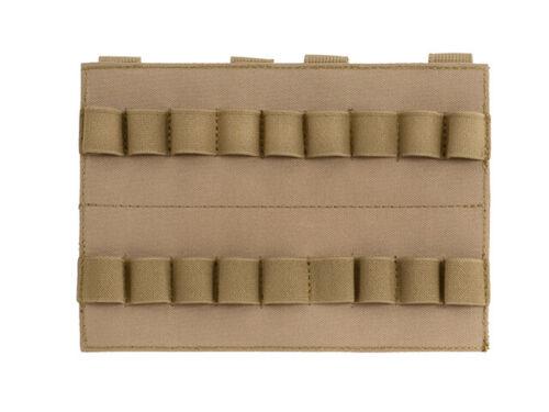 Vertical Shotgun Shell Panel Schrotflinten Munitionshalter 18 Round Schuss Molle