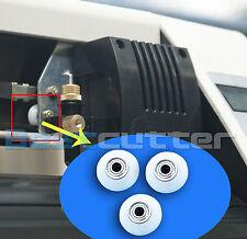 3 Pcs White Nylon Wheel On Carriage Of Cutting Plotter HQ Brand New Nylon Wheels