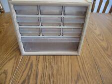 Vintage Sears Craftsman 10 Drawer Plastic Parts Organizer Storage Bin