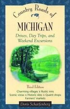Country Roads of Michigan: Drives, Day Trips, and Weekend Excursions-ExLibrary