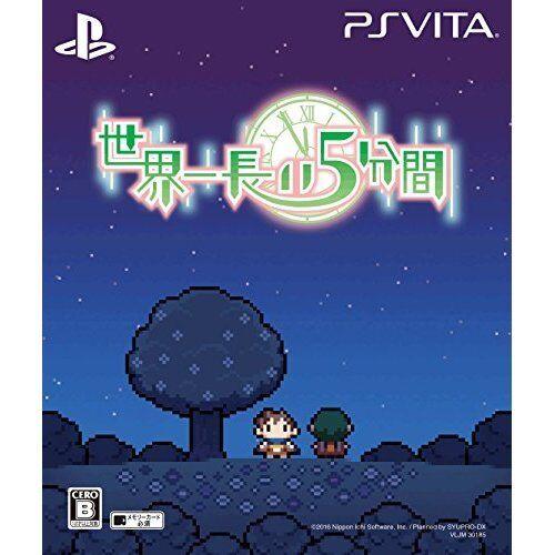 New PS Vita World's longest 5 minutes Limited Import Japan