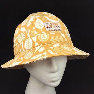 New Vans x Yusuke Hanai Artwork Bucket Hat ALL SIZES Yellow White ... 78f62c9289b7