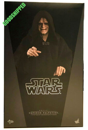 READY HOT TOYS AUTHENTIC SW EP VI RETURN JEDI EMPEROR PALPATINE NORMAL MMS467