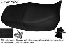 BLACK STITCH CUSTOM FITS HONDA CB 750 NIGHTHAWK DUAL LEATHER SEAT COVER